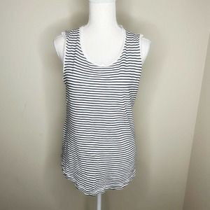 Madewell Striped Tank Top Size S